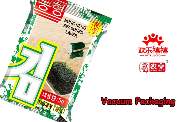 15g Nong Heng BBQ Original Flavour Seaweed for Children with FDA