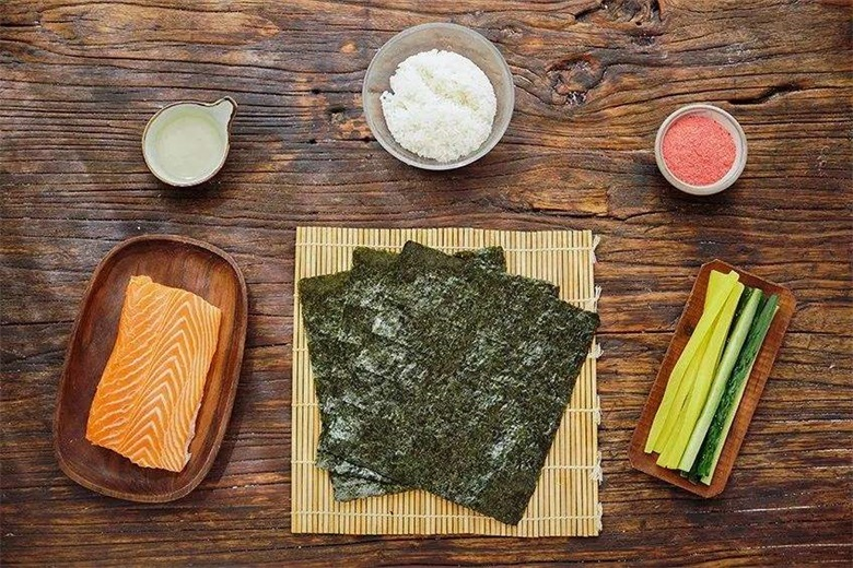50 sheets C grade roasted instant food nori seaweed