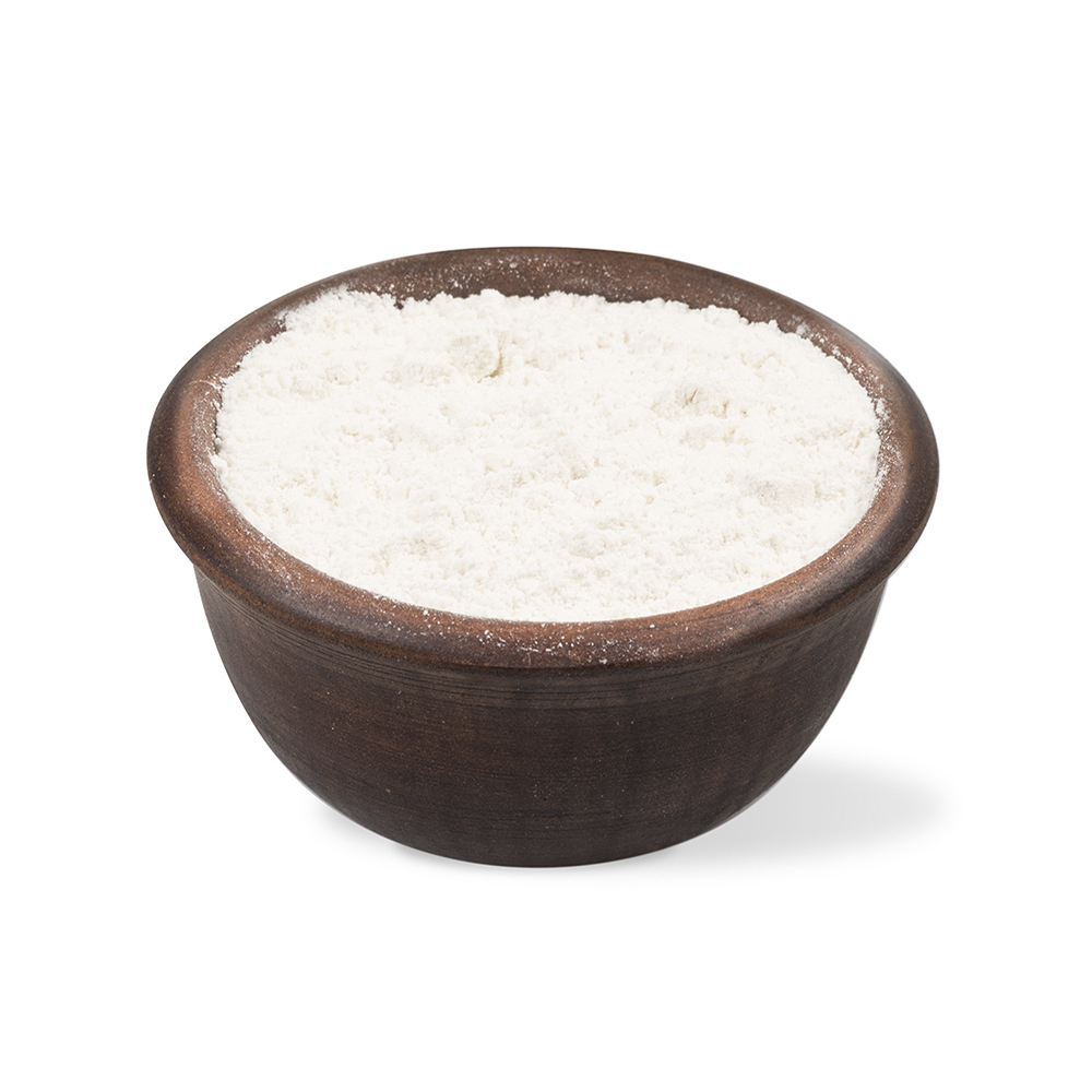 Organic extruded rice flour