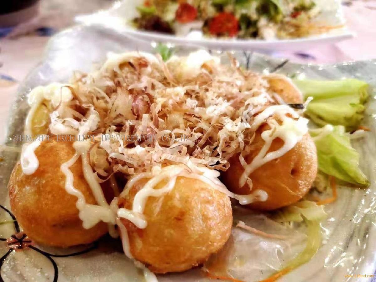 Octopus dumplings