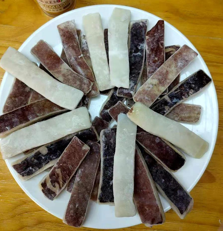 IQF Squid Wing Slices with skin