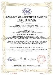 ISO50001 CERTIFICATION