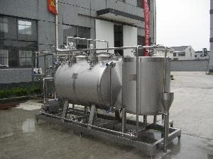 CIP system for food and beverage industry