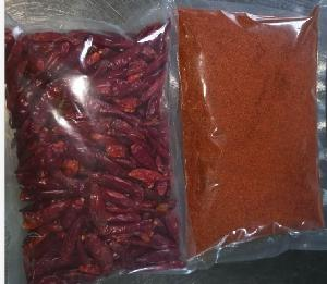 Dried Natural Pure Red Chili Pepper Export Chilli Powder
