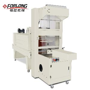FL-5038+BSE-5040 Semi auto film wrapping and heat shrink packing machine