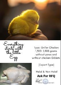 Замороженная курица халяль и не халяль