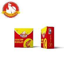 Halal 4g&10g tasteful shrimp  seasoning   bouillon  stock  cube  for Africa