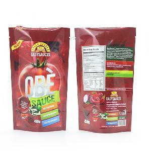 Custom plastic packing bag printed plastic bags for food packaging