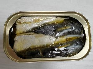 125g canned sardine with vegetable oil