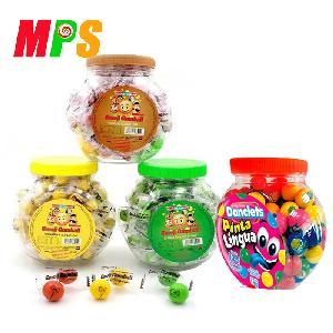 Custom Jar Packing Halal Tutti-Frutti Chewing Bubble Gum