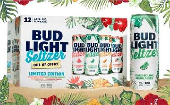Bud Light представляет Out of Office hard seltzer variety pack