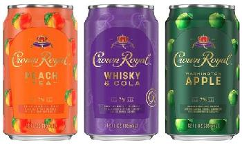 Diageo launches new Crown Royal RTD cocktails