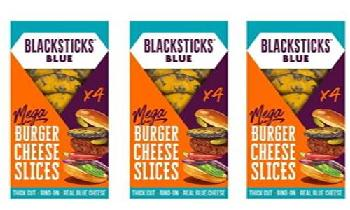 Butlers Farmhouse Cheeses unveils Blacksticks Blue Mega Burger Slices