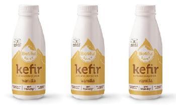 Biotiful Dairy unveils new vanilla liquid kefir flavour