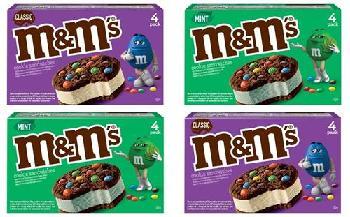 Mars Wrigley unveils new M&M's Ice Cream Cookie Sandwich flavours