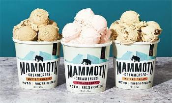 Mammoth Creameries представляет новые замороженные ароматы заварного крема
