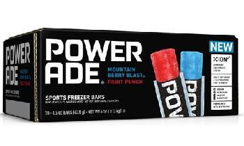 Coca-Cola partners with Jel Sert to launch Powerade Sports Freezer Bars