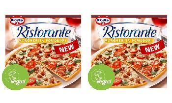Dr. Oetker releases first vegan Ristorante frozen pizza in UK