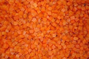 Frozen  Dried  Carrot  Cubes