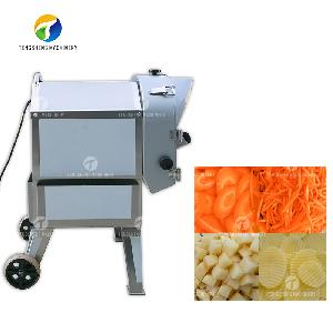 Industrial multi-functional potato and carrot cutting machine (TS-Q112)