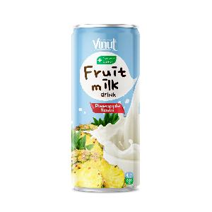 325ml VINUT Pineapple juice with milk