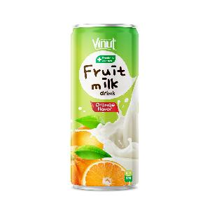 325ml VINUT Fruit Milk Drink Orange Flavor