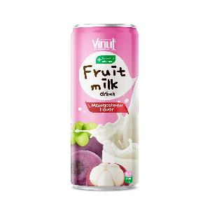 325ml VINUT Fruit Milk Drink Mangosteen Flavor