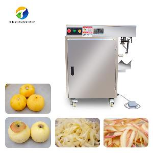 Apple and persimmon kiwi fruit peeling machine Potato peeling machine food processor (TS-P18S)