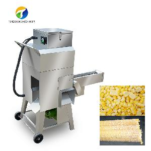 Stainless Steel Automatic Cooked Maize Sweet Corn Threshing Machine (TS-W168L)