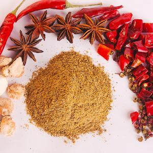 Black pepper powder Chinese prickly ash powder cumin powder BBQ powder five spice powder