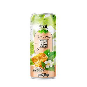 250ml VINUT Premium White  tea  and Honey  Jasmin e Sparkling water
