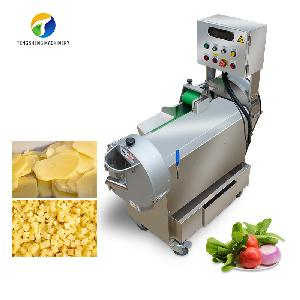 Industrial double head vegetable cutting machine potato chip machine (TS-Q118)