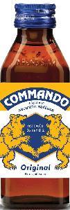 Commando Glass Bottle