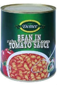 Canned baked beans in tomato sauce,canned vegetable