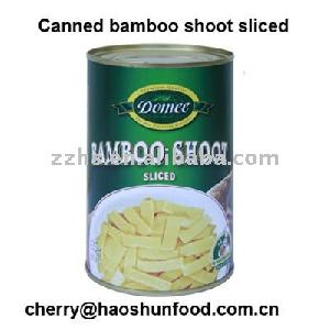 Canned Bamboo Shoot Sliced in Brine from factory directly