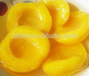Sweet Canned Yellow Peach Half in light syrup