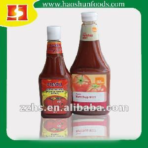 Tomato Ketchup in plastic bottle 382ml 793ml