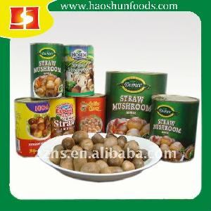 Canned Straw Mushrooms Whole