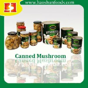 Canned Mushrooms in Can or Glass Jar