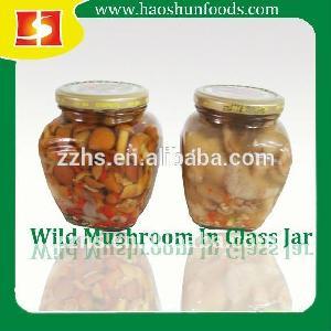 Marinated Nameko  Mushroom  In Glass  Jar