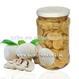 Canned slice Mushroom in Jars