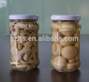Canned Mushroom Piece  Stem / whole in jar in Brine
