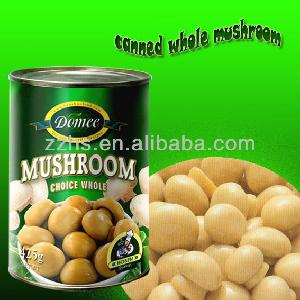 Canned Mushrooms in Glass Jar Branded Canned Food Products