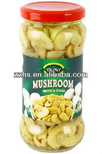 370ML Mushrooms Pieces and Stems in jars