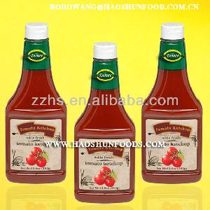 Canned Tomato Ketchup In Plastic Bottle