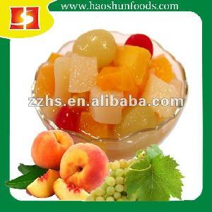 Одобрение FDA консервированный фруктовый коктейль