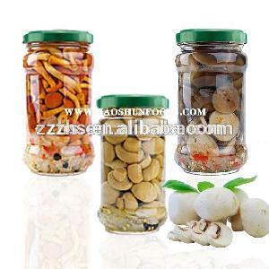 Mushroom In Jars With Marinated Flavor