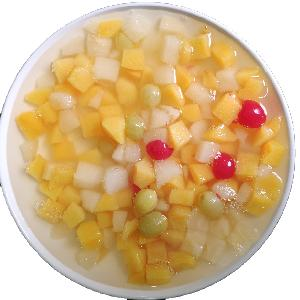 Консервированный фруктовый коктейль в сиропе консервированные фрукты