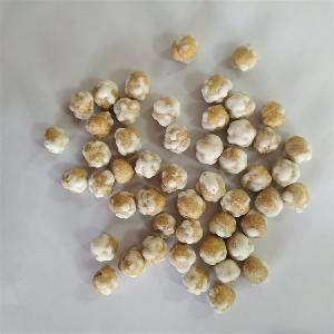 Roasted process crunchy delicious mustard flavor coated chickpeas snacks