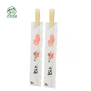 wholesale  Korean   style  disposable bamboo chopsticks customized